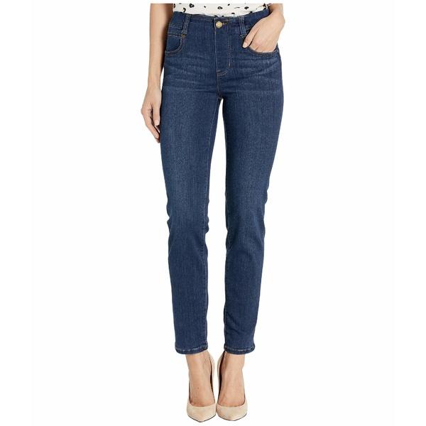 リバプール レディース デニムパンツ ボトムス Gia Glider/Revolutionary Pull-On Slim Jeans in Griffith Super Dark Griffith Super Dark