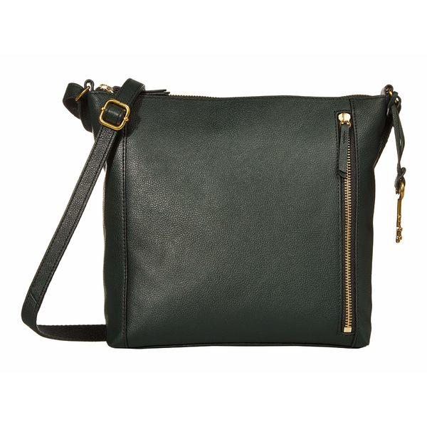 フォッシル レディース ハンドバッグ バッグ Tara Crossbody Handbag Green