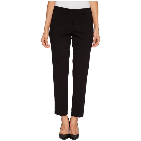 リバプール レディース カジュアルパンツ ボトムス Petite Kelsey Straight Leg Trousers in Super Stretch Ponte Knit Black