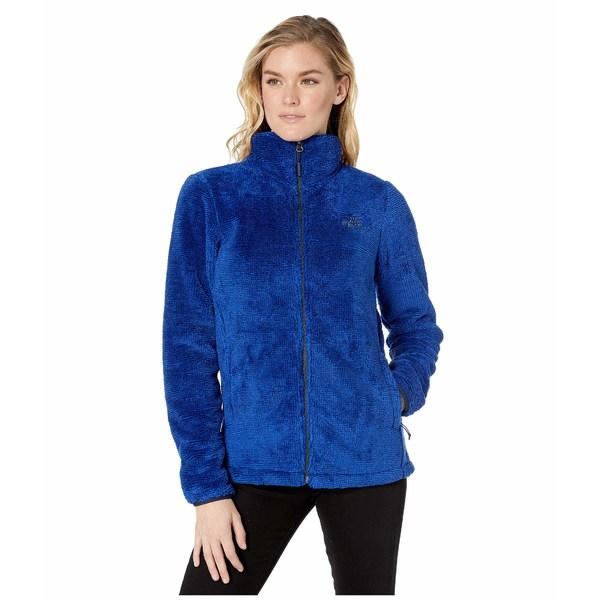 ノースフェイス レディース コート アウター Seasonal Osito Jacket Urban Navy/TNF Blue