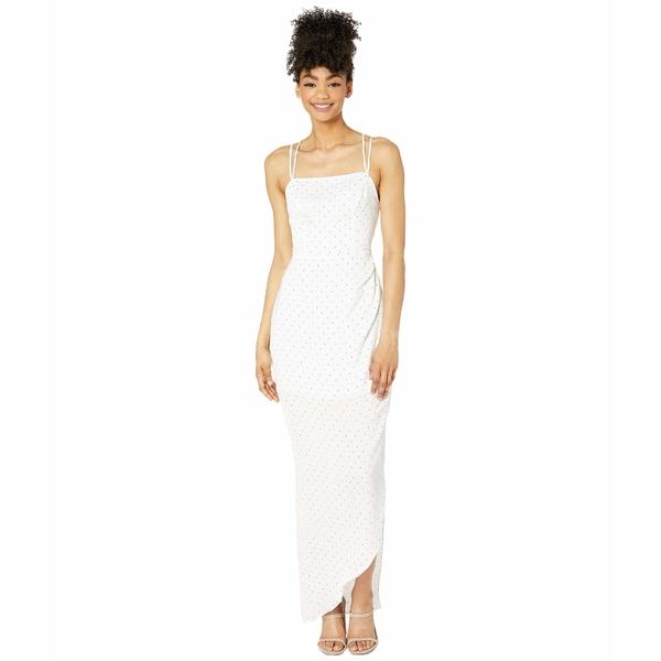 BCBジェネレーション レディース ワンピース トップス Evening Strappy Dress - TQI6185701 Optic White