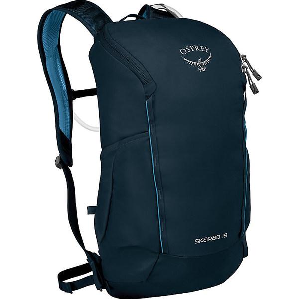 オスプレー メンズ バックパック・リュックサック バッグ Osprey Skarab 18 Backpack Deep Blue