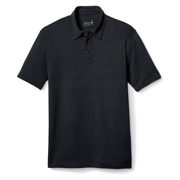 スマートウール メンズ シャツ トップス Smartwool Men's Merino 150 Pattern Polo Charcoal