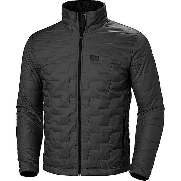 ヘリーハンセン メンズ ジャケット&ブルゾン アウター Helly Hansen Men's Lifaloft Insulator Jacket Black Matte