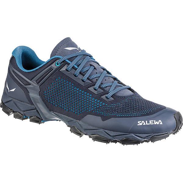 サレワ メンズ ランニング スポーツ Salewa Men's Lite Train K Shoe Premium Navy / Caneel Bay
