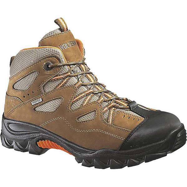 ウルヴァリン メンズ ハイキング スポーツ Wolverine Men's Durant Waterproof Steel Toe Hiker Boot Light Brown / Orange