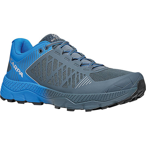 スカルパ メンズ ランニング スポーツ Scarpa Men's Spin Ultra Shoe Iron Grey/Vivid Blue