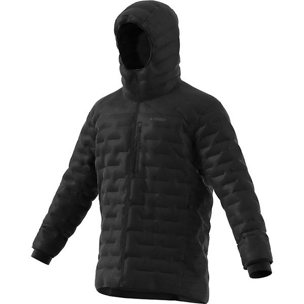 アディダス メンズ ジャケット&ブルゾン アウター Adidas Men's Climaheat Jacket Black