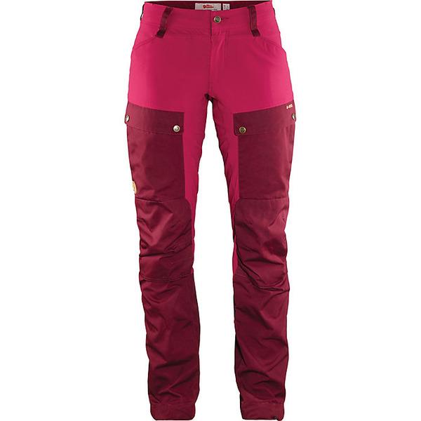 フェールラーベン レディース ハイキング スポーツ Fjallraven Women's Keb Curved Trouser Dark Garnet-Plum