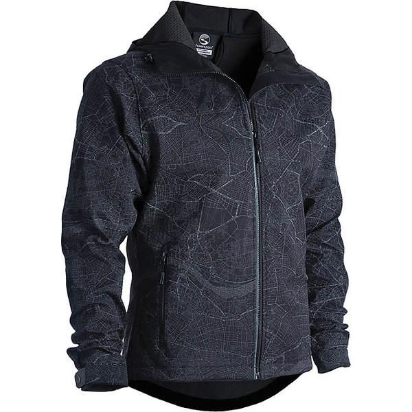 シャワーパス メンズ ジャケット&ブルゾン アウター Showers Pass Men's Odyssey Jacket Map Reflect Black