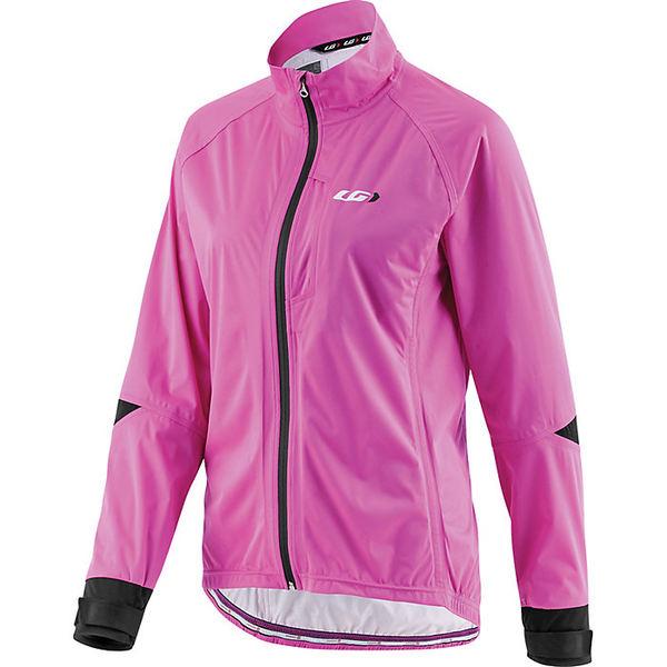 イルスガーナー レディース ジャケット&ブルゾン アウター Louis Garneau Women's Commit Waterproof Jacket Pink Glow