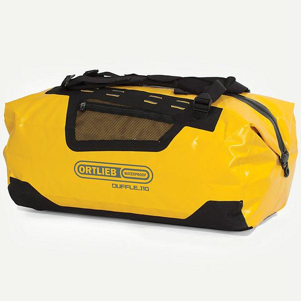 オルトリーブ レディース ボストンバッグ バッグ Ortlieb Duffel 110L Bag Sun Yellow / Black