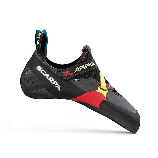 スカルパ メンズ ハイキング スポーツ Scarpa Men's Arpia Climbing Shoe Black/Red
