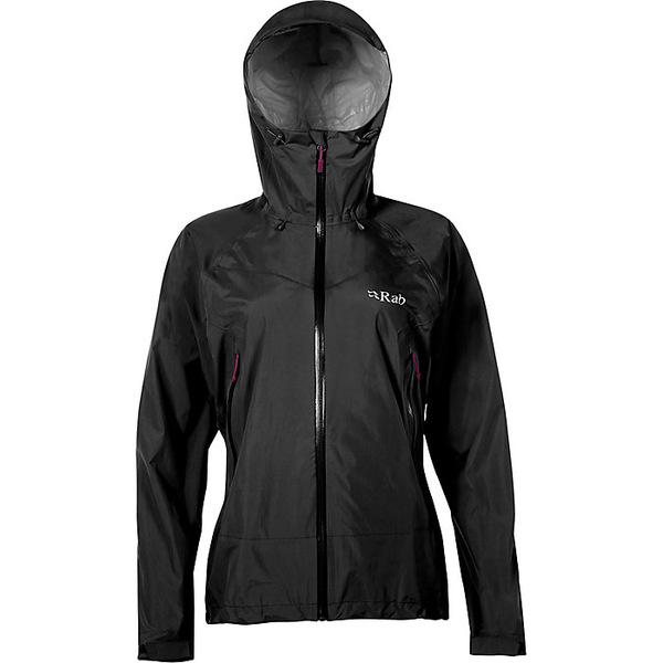 ラブ レディース ジャケット&ブルゾン アウター Rab Women's Downpour Plus Jacket Black