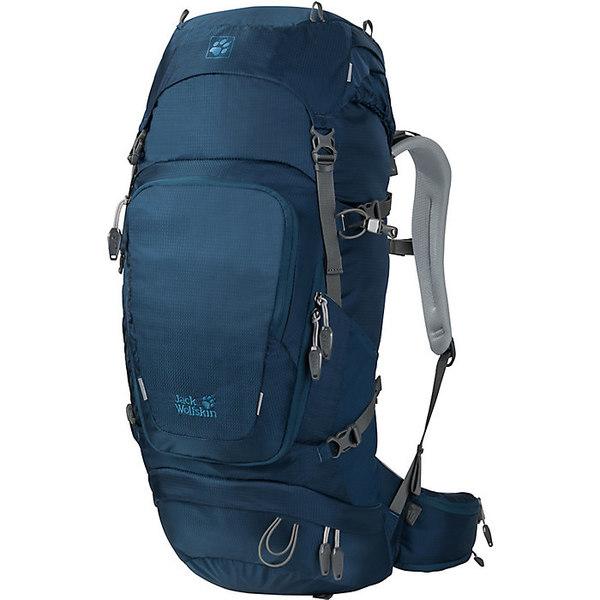 ジャックウルフスキン レディース ジャケット&ブルゾン アウター Jack Wolfskin Orbit 38 Pack Poseidon Blue