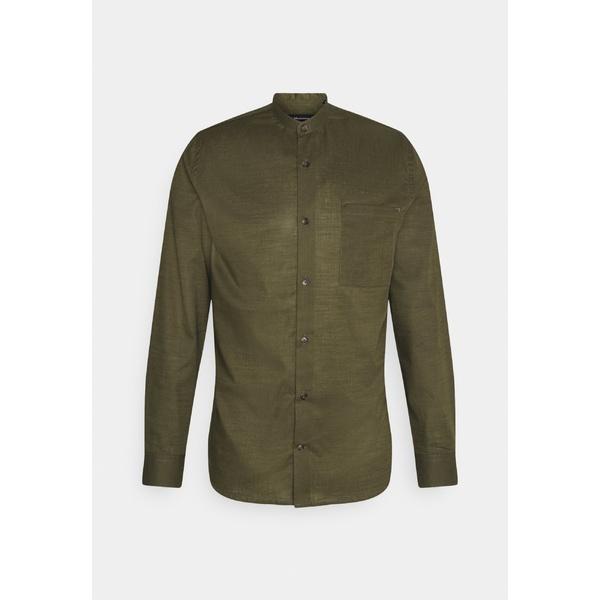 マルティニーク メンズ トップス 当店は最高な サービスを提供します シャツ olive night 優先配送 TROSTOL axfl0198 Shirt 全商品無料サイズ交換 CHINA -