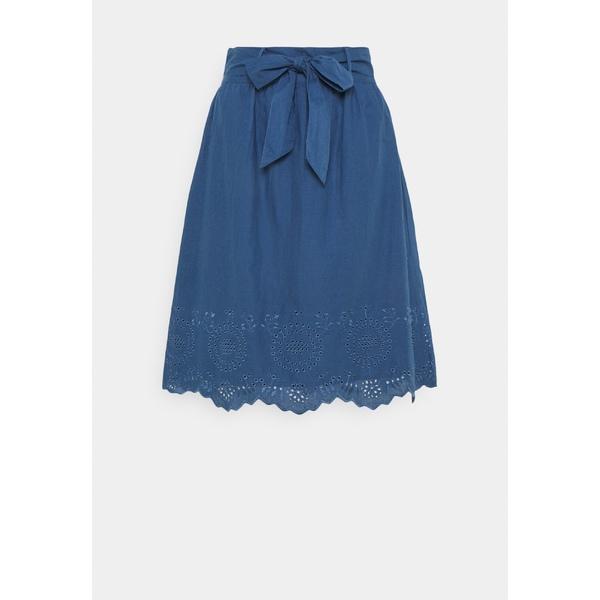 オンリー プティ レディース ボトムス スカート dark blue denim 超人気 専門店 skirt ONLSHERY A-line axfl019c - LIFE MIDI 全商品無料サイズ交換 セール特価