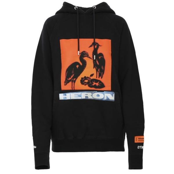 ヘロン プレストン レディース パーカー・スウェットシャツ アウター Heron Preston Sweatshirt Black
