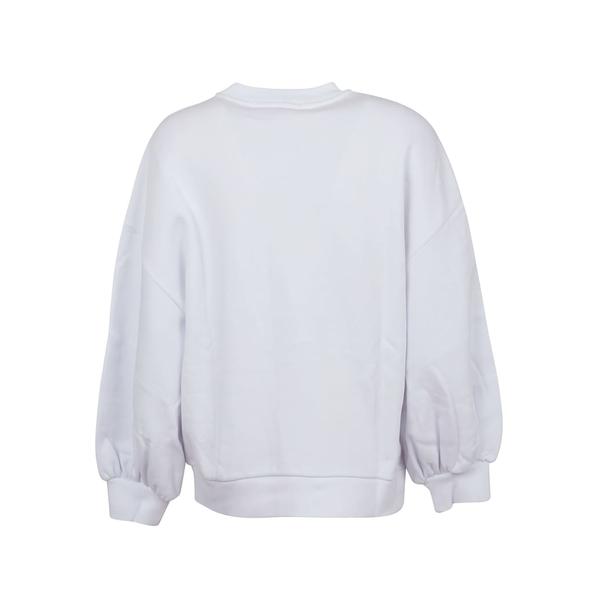 エムエスジイエム レディース パーカー・スウェットシャツ アウター MSGM Felpa/sweatshirt OpticalWhite