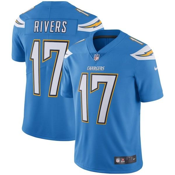 ナイキ メンズ シャツ トップス Philip Rivers Los Angeles Chargers Nike Vapor Untouchable Limited Jersey Powder Blue