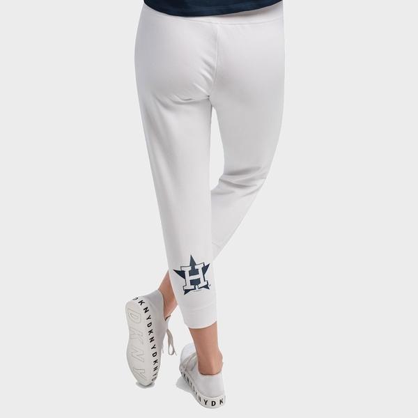 ダナキャラン レディース カジュアルパンツ ボトムス Houston Astros DKNY Sport Women's The Hampton Jogger Pants White