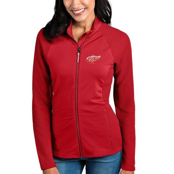 アンティグア レディース ジャケット&ブルゾン アウター Detroit Red Wings Antigua Women's Sonar Full-Zip Jacket Red