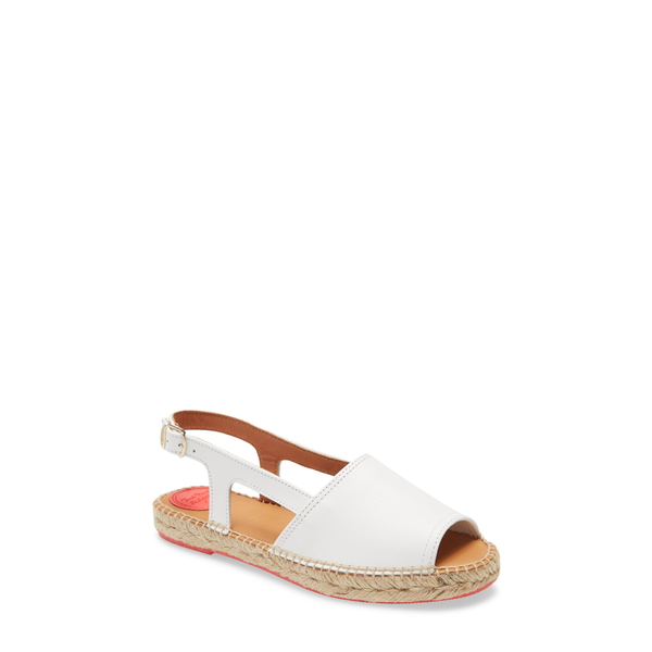 トニーポンズ レディース サンダル シューズ ELX-P Espadrille Sandal White Leather