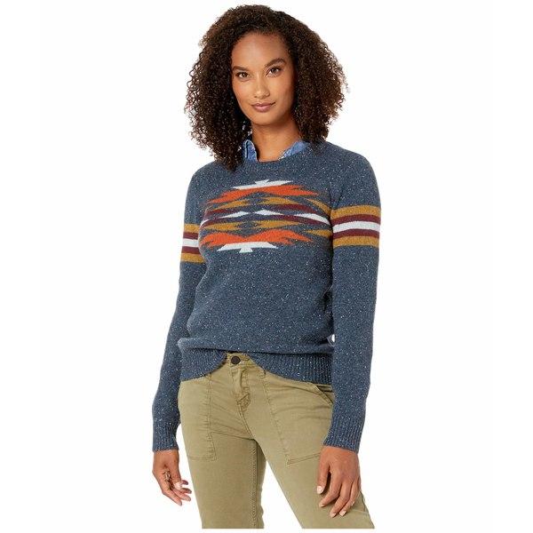 ペンドルトン レディース ニット&セーター アウター Desert Gem Wool Sweater Mood Indigo Multi