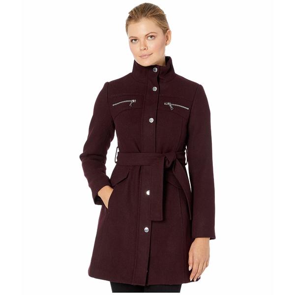 ヴィンスカムート レディース コート アウター Belted Wool Coat V29769 Port Royale