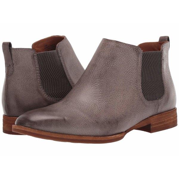 コークイース レディース ブーツ&レインブーツ シューズ Kama Grey Full Grain Leather