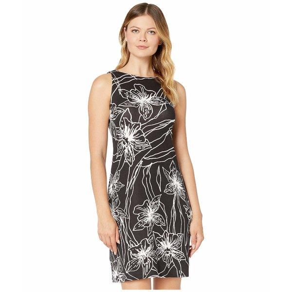 トッミーバハマ レディース ワンピース トップス Vista Blooms Sleeveless Sheath Dress Black