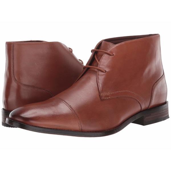 ボストニアン メンズ ブーツ&レインブーツ シューズ Nantasket Mid Tan Leather