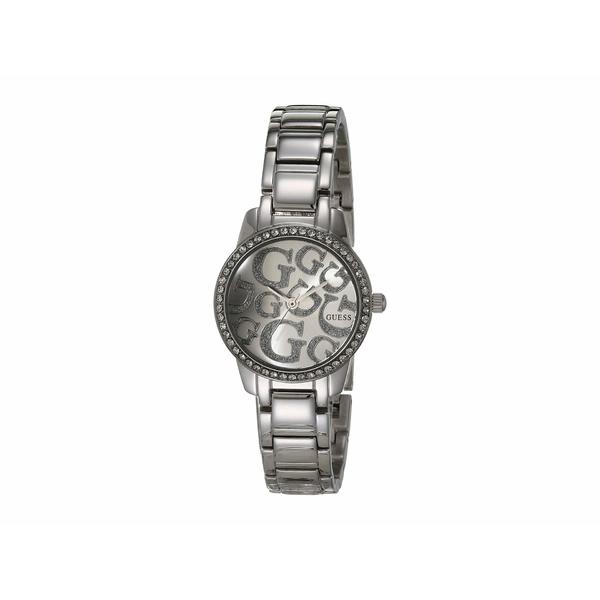 ゲス レディース 腕時計 アクセサリー W0891l1 Silver