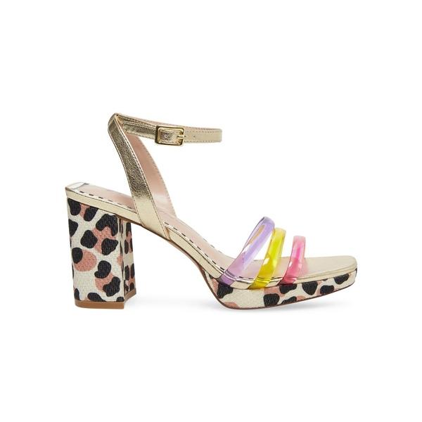 ベッツィジョンソン レディース パンプス シューズ Strappy Heeled Sandals Brite Multi
