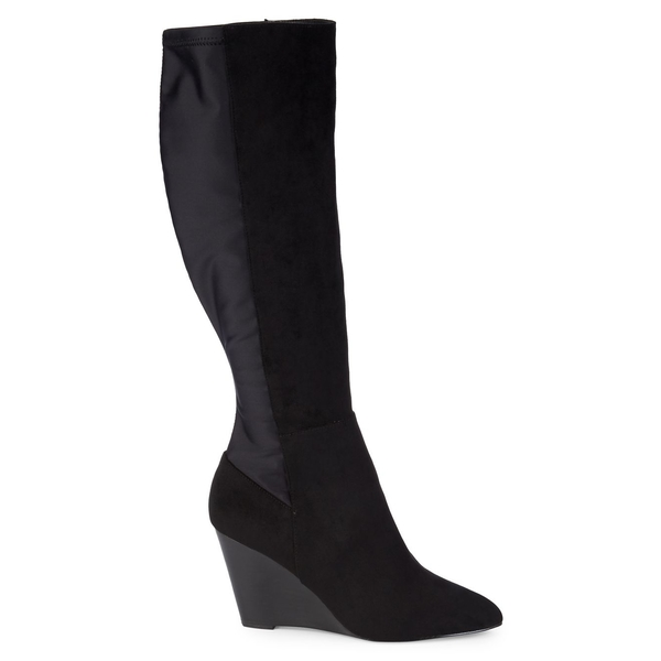 チャールズ・デイビッド レディース ブーツ&レインブーツ シューズ Energy Colorblock Knee-High Boots Black