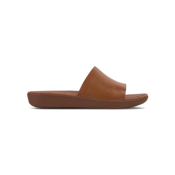 フィットフロップ レディース サンダル シューズ Sola™ Leather Sandals Caramel