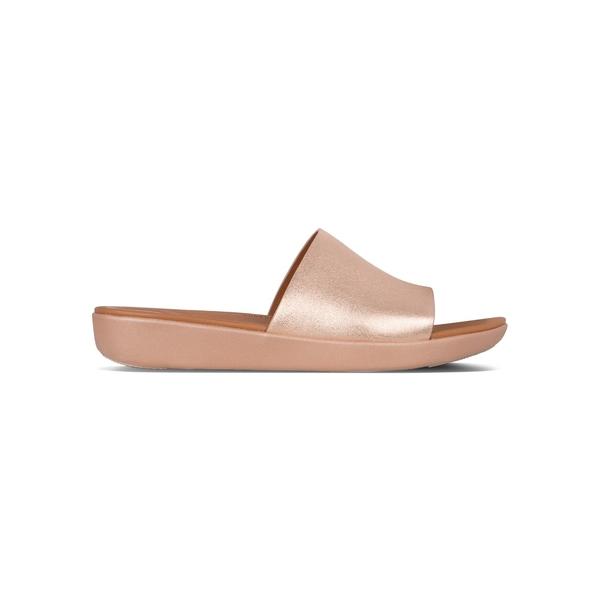 フィットフロップ レディース サンダル シューズ Sola™ Leather Sandals Rose Gold