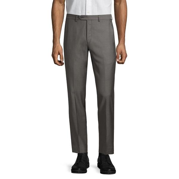 ブラック・ブラウン1826 メンズ カジュアルパンツ ボトムス Italian Wool Suit Separate Pants Black
