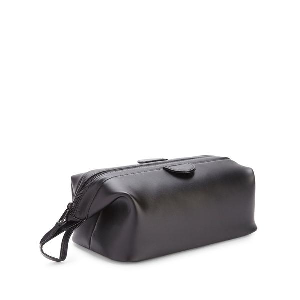 ロイス メンズ バックパック・リュックサック バッグ Travel Toiletry Wash Bag Black