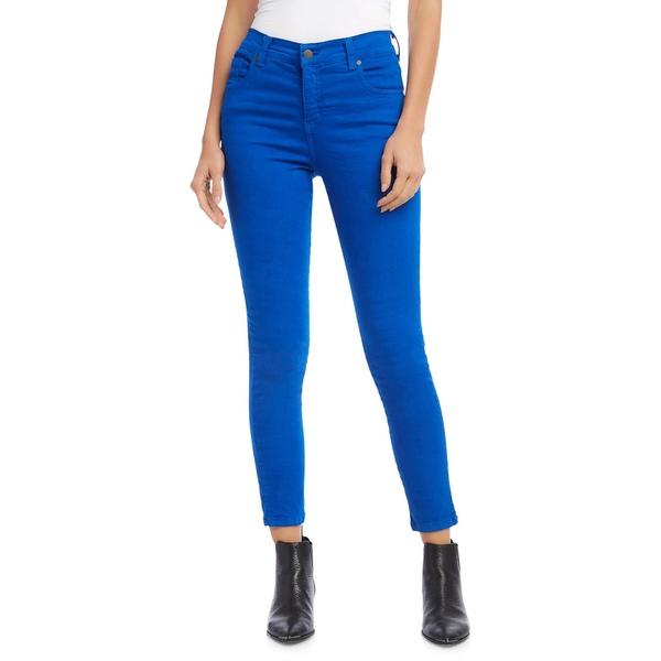 カレンケーン レディース デニムパンツ ボトムス Zuma Mid-Rise Cropped Jeans Blue