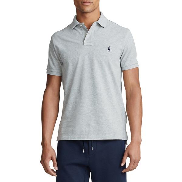 ラルフローレン メンズ シャツ トップス Short Sleeve Polo Shirt Andover Heather