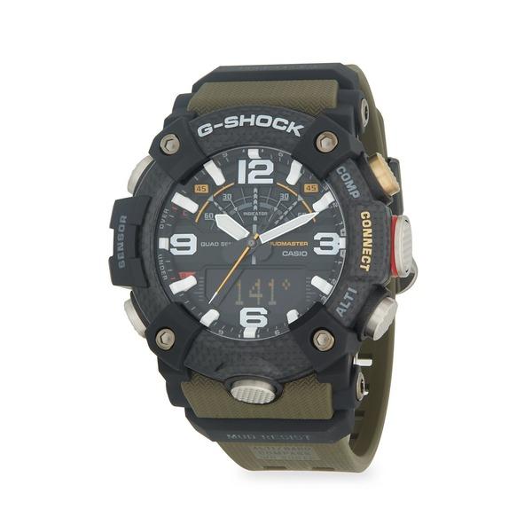 ジーショック レディース 腕時計 アクセサリー Mudmaster Digital Resin Strap Watch Green