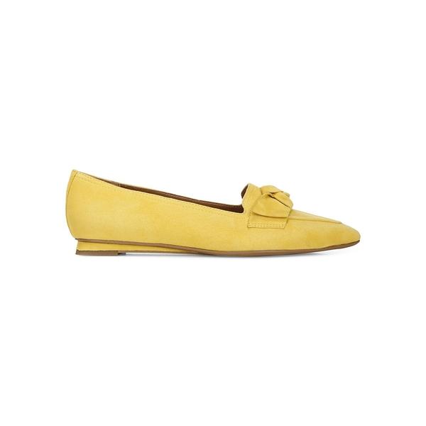 フランコサルト レディース オックスフォード シューズ Raya Suede Loafers Yellow