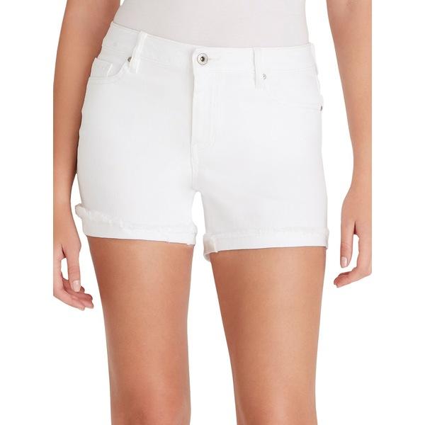 ジェシカシンプソン レディース デニムパンツ ボトムス Forever Denim Shorts White