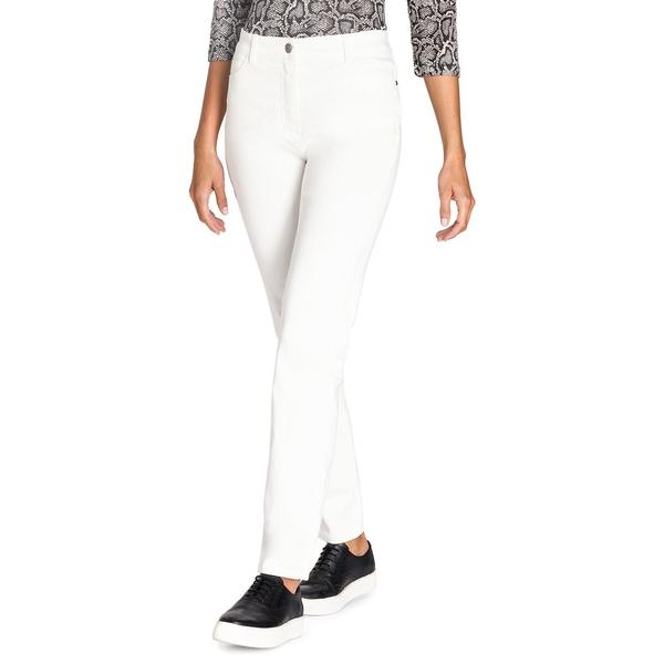 オルセン レディース カジュアルパンツ ボトムス Mona Slim-Fit Pants Off White