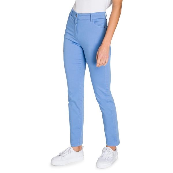 オルセン レディース カジュアルパンツ ボトムス Mona Slim-Fit Pants River Blue