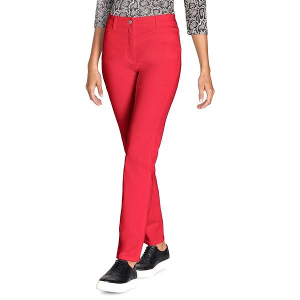 オルセン レディース カジュアルパンツ ボトムス Mona Slim-Fit Pants Spicy Red