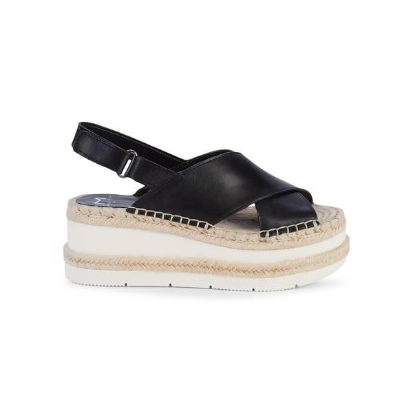 マーク・フィッシャー レディース サンダル シューズ Gandy Platform Slingback Sandals Black