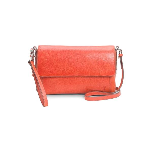 フライ レディース ショルダーバッグ バッグ Reed Flap Crossbody Bag Burnt Orange