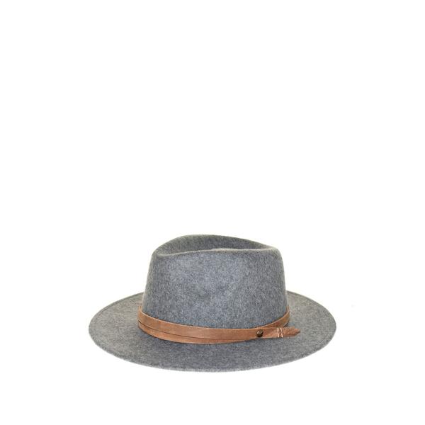 フライ レディース 帽子 アクセサリー Charlie Felt Panama Hat COAL - GREY